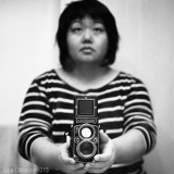 More selfies with my Rolleiflex